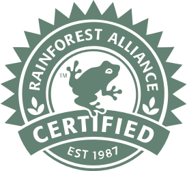 Rainforest certified logo